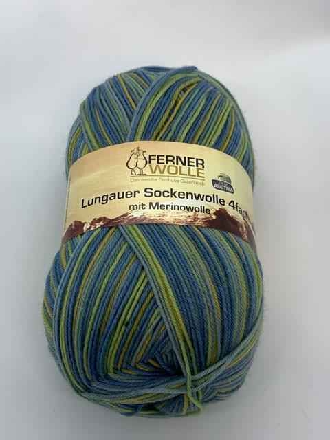 Lungauer Sockenwolle 4-fach mit Merinowolle 344