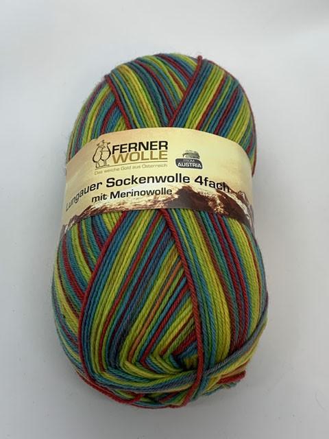 Lungauer Sockenwolle 4-fach mit Merinowolle 345