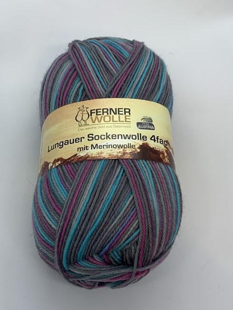 Lungauer Sockenwolle 4-fach mit Merinowolle 348