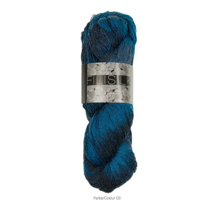Filisilk color Blaumeise