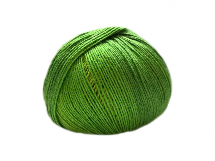 Sockenwolle mit Seide 36x18