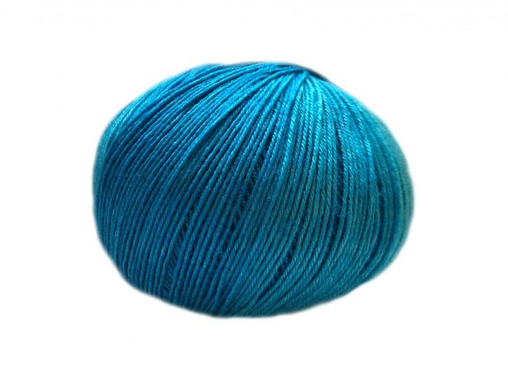 Sockenwolle mit Seide 42x18