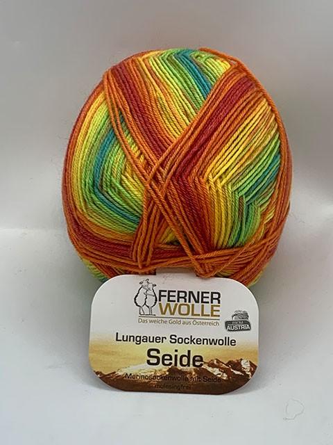 Lungauer Sockenwolle mit Seide 413