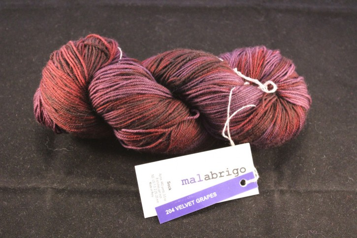Malabrigo Velvet Grape